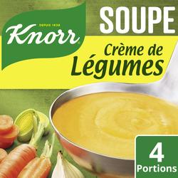 Crème de légumes déshydratée KNORR, sachet de 1l