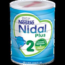 NIDAL plus Nestlé 2e âge, de 6 à 12 mois, boîte de 800g