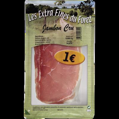 Jambon cru MERLE, 3 tranches, 60g