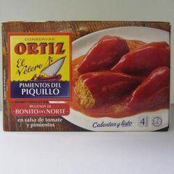 PIQUILLOS FARCIS THON 300G - ORTIZ