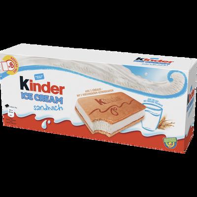 Ice cream sandwich KINDER, x8 soit 280g