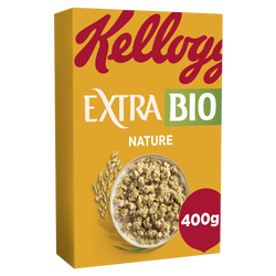 Céréales EXTRA bio nature, kellogg's, 400g