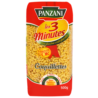 Coquillettes cuisson rapide PANZANI, 500g