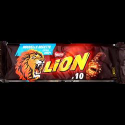 Barres au chocolat et caramel LION, 10 unités, 420g