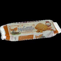 Le Carré normand caramel beurre salé BISCUITERIE DE L'ABBAYE, sachet de 1 40g
