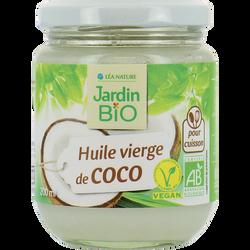 Huile vierge de noix de coco bio JARDIN BIO 184g