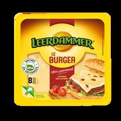 Fromage pasteur.hamburger LEERDAMMER, x8 soit 150g