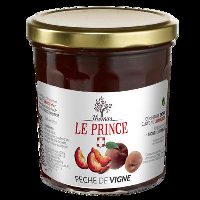 Confiture extra de pêches de vigne THOMAS LE PRINCE, 350g