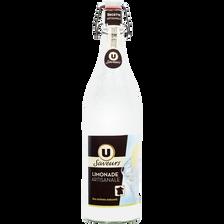 Limonade à l'ancienne U SAVEURS, bouteille en verre de 1l