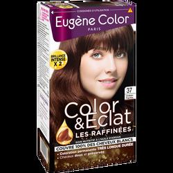 Coloration crème permanente Les Raffinés EUGENE COLOR, châtain paprikan°37