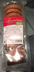 Palets bretons pur beurre Les Renardises 185G
