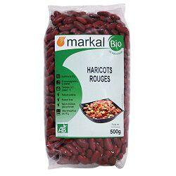 Haricots rouges BIO, MARKAL, le paquet de 500g
