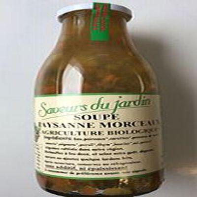 SOUPE PAYSANNE MORCEAUX 97CL AGRICULTURE BIOLOGIQUE