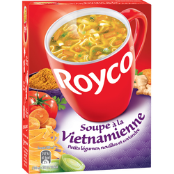 Soupe à la vietnamienne ROYCO, sachets x3, 60cl
