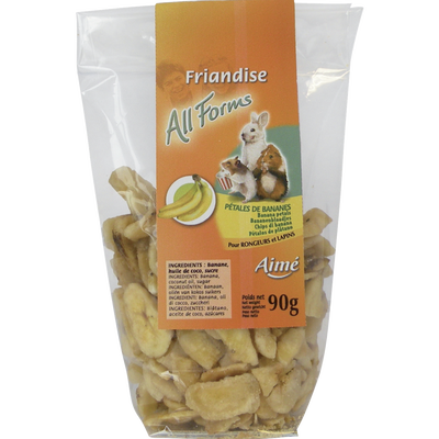 Pétales bananes exotiques, AIME, 90g
