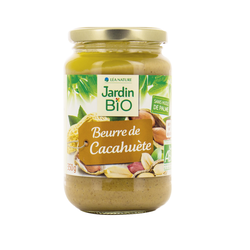 Beurre de cacahuètes Jardin Bio 350g