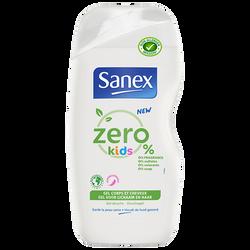 Gel douche biodégradable Kids SANEX flacon de 500 ML