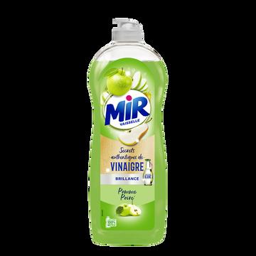 Mir Liquide Vaisselle Secrets De Vinaigre Parfum Pomme Et Poire Mir, 750 Ml