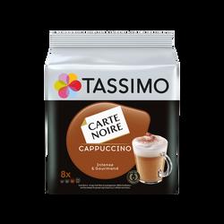 Café Dosettes TASSIMO CARTE NOIRE Cappuccino x 8