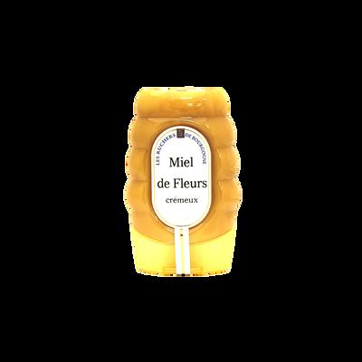 Miel de fleurs crémeux LES RUCHERS DE BOURGOGNE, 360g