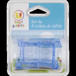 COIN DE TABLE U TOUT PETITS  X4