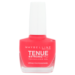 "Vernis à ongles ""Tenue et strong"" n°490 rose salsa - blister MAYBELLINE"