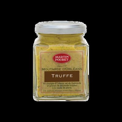 Moutarde d'Orléans à la truffe aux graines Du Val de Loire MARTIN POURET, 200g