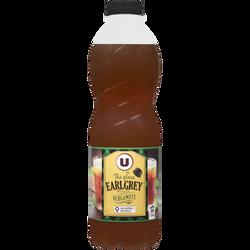 Boisson au thé Earl Grey saveur bergamote U, bouteille de 1l