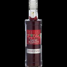 Crème de griotte VEDRENNE, 15°, bouteille de 50cl
