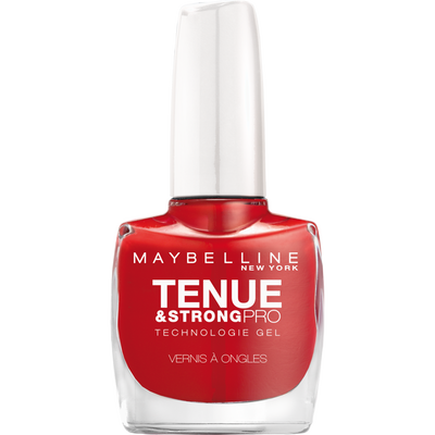 Vernis à ongles tenue & strong forever red 505 MAYBELLINE, nu