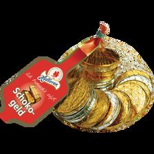 Pièces de monnaie au chocolat, filet de 100g