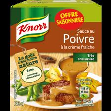 Knorr Sauce Au Poivre , Brique De 30cl