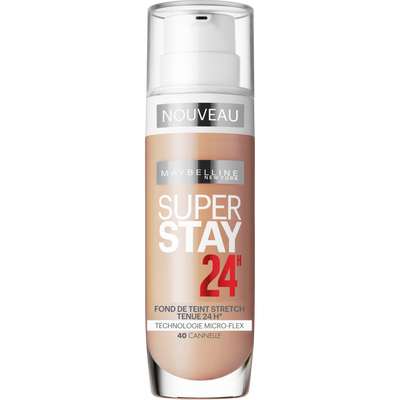 FDT superstay 24h photofix cannel MAYBELLINE 40 nu