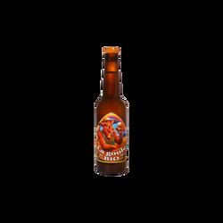 Bière blonde BIO LA GOULE, 6° 33cl