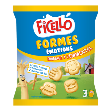 Ficello Fromage Forme Emmental Ficello, 22,5%mg, X3