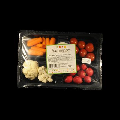 Set apéritif de 4 légumes et sauce, 480g