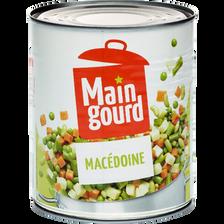 Macédoine de légumes maingourd, boîte 4/4, 530g