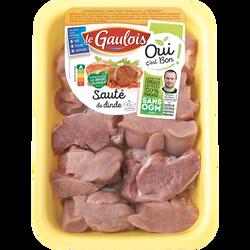 Sauté de dinde façon bourguignonne, LE GAULOIS, 800g