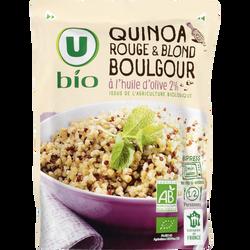 Quinoa boulgour U BIO, sachet micro-ondable de 250g