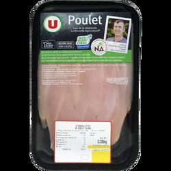 Aiguillette de poulet blanc, U, France, 6 pièces