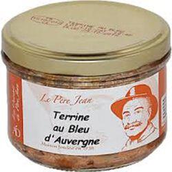 *Terrine au Bleu d'Auvergne AOP, 180g, Le père Jean