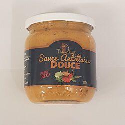 Sauce antillaise douce, TI DELICE, le bocal de 200g