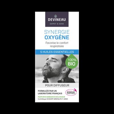 Synergie oxygène bio, 10ml, huile essentielle