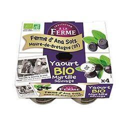 yaourt bio myrtille sauvage