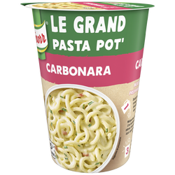 Plat déshydraté pâtes accompagnée sauce carbonara KNORR, 92g