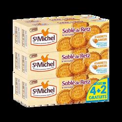 Sablés de Retz ST MICHEL paquet 4x120g+2 offert