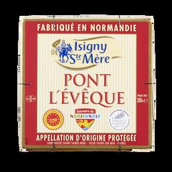 Grand Pont l'Evêque AOP lait pasteurisé, 22% de MG, ISIGNY SAINTE MERE, 350g