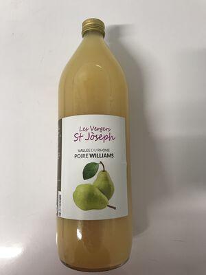 Nectar de Poire Williams Les vergers St Joseph 1L