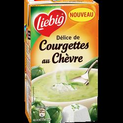 Délice de courgettes au chèvre Les Gourmands LIEBIG, brique de 1 litre