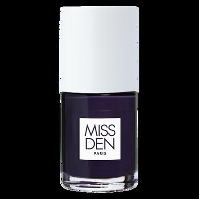 Vernis couleur absolue bleu indigo 123 MISS DEN, nu